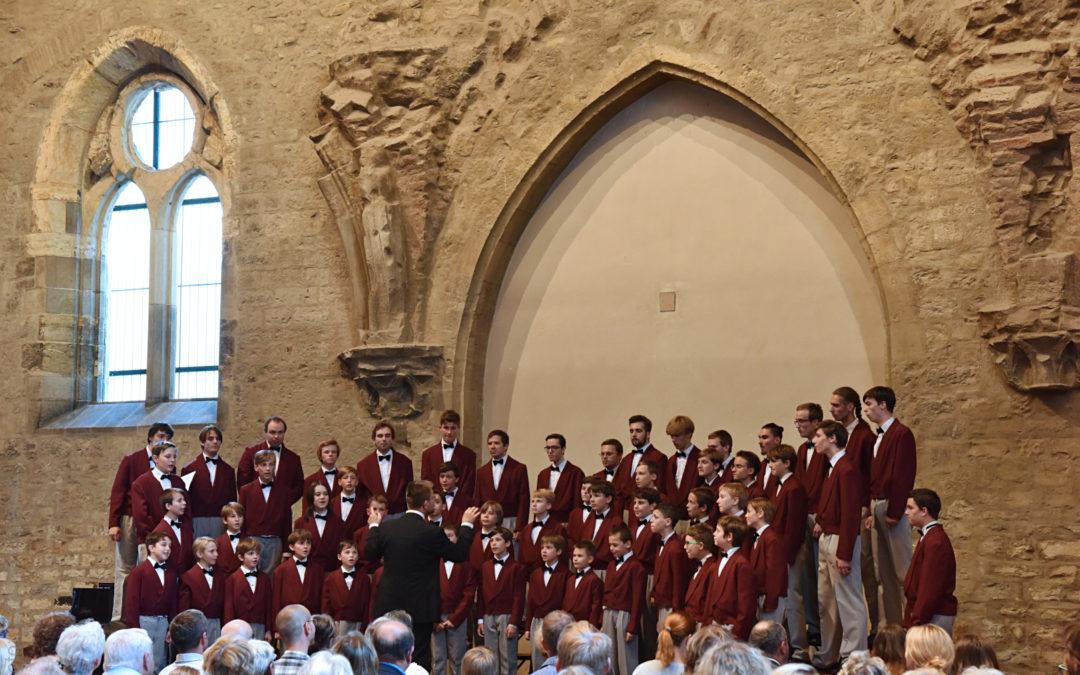 Závěrečný koncert Pueri gaudentes